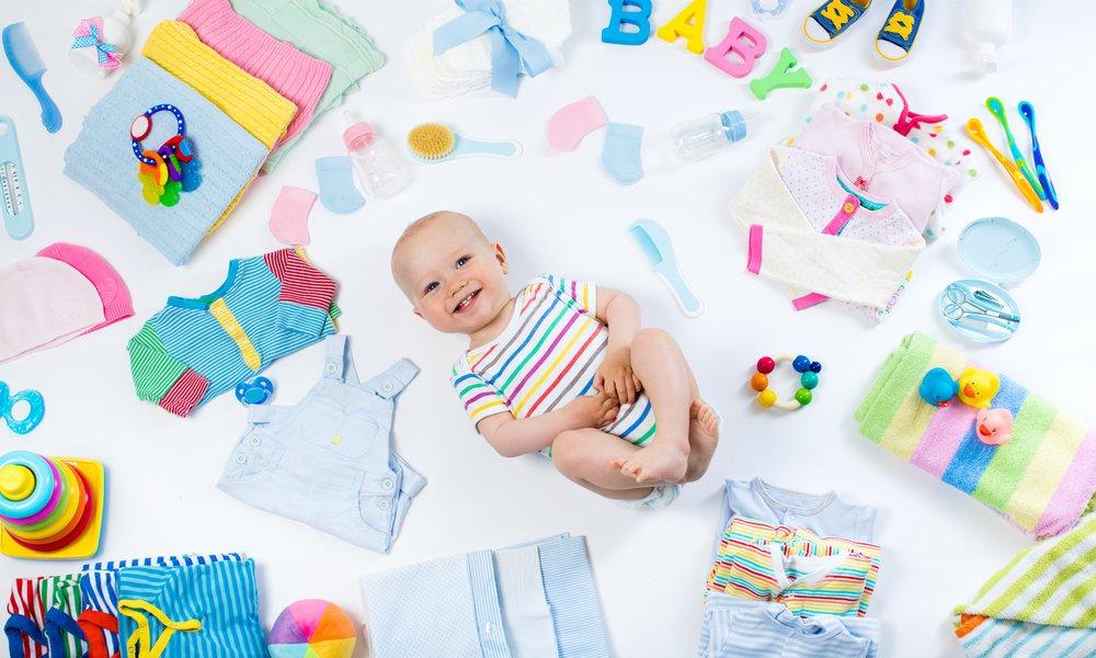 Platz schaffen für Babysachen