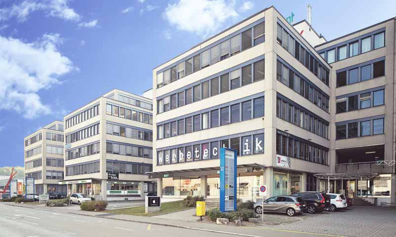 Bild Aussenansicht Standort Dietikon