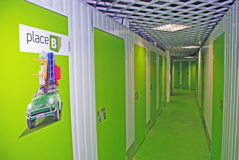 placeB Self Storage Center von innen