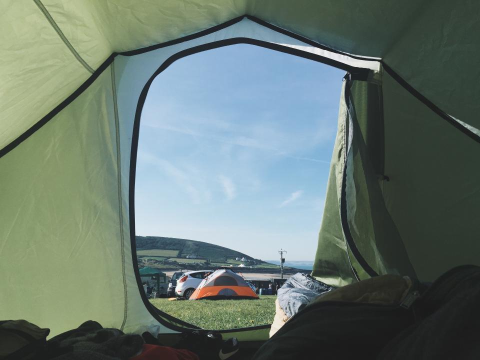 Zelt einlagern