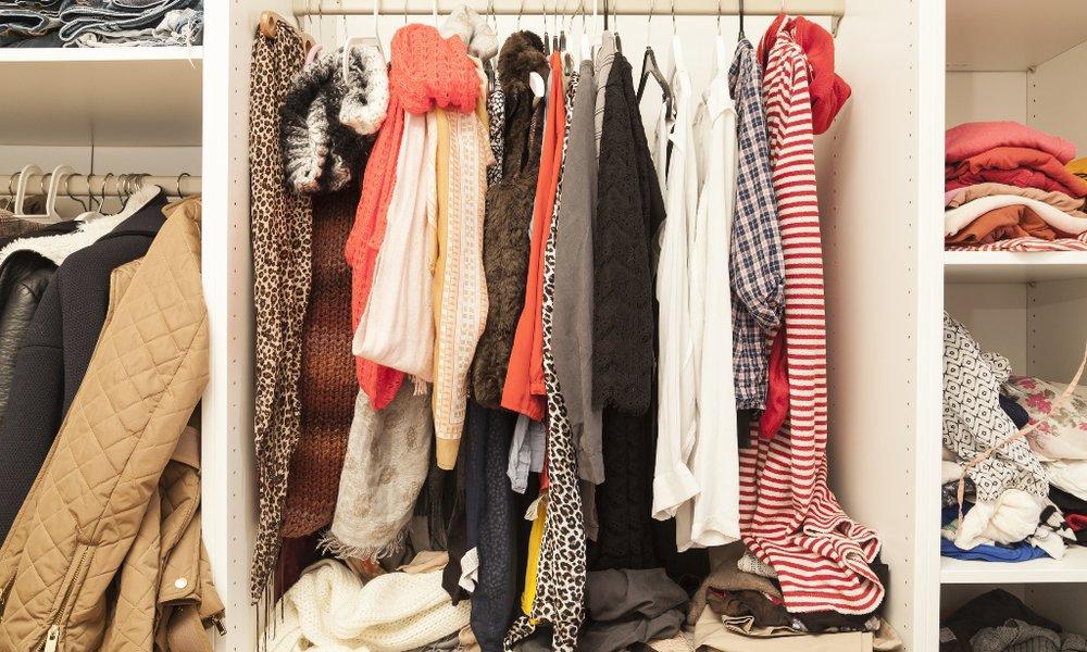 Kleider einlagern