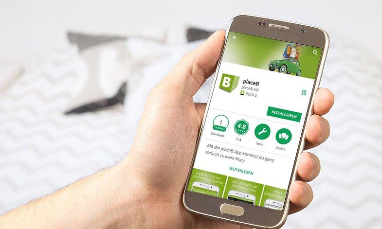 placeB App
