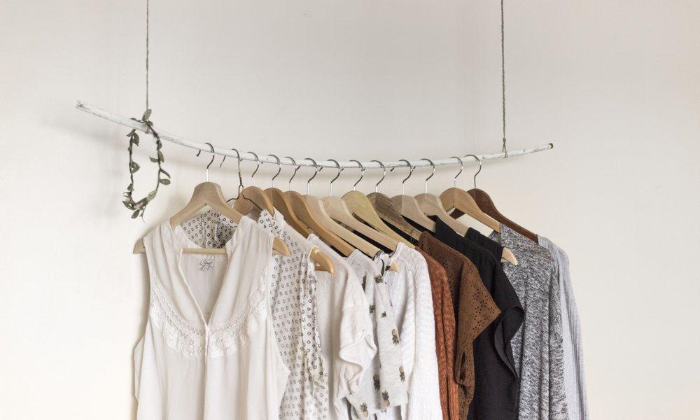 Kleider lagern